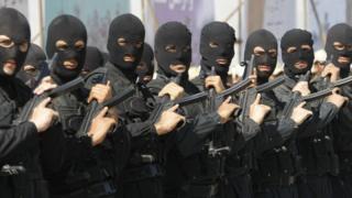 رژه پلیس ضد تروریست ایران