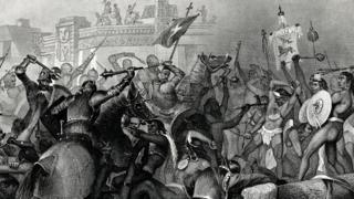Коквистадоры и ацтеки