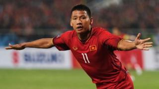 Nguyễn Anh Đức ghi bàn duy nhất ở phút thứ 6 trong trận lượt về