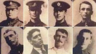 ثمانية أشقاء في الحرب العالمية الأولى