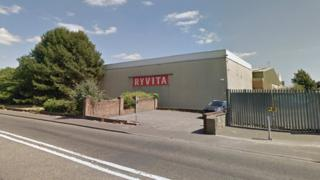 Ryvita factory on Old Wareham Road in Poole