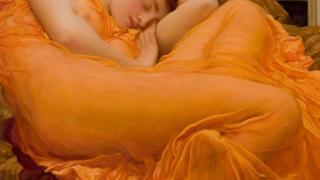 lukisan oranye