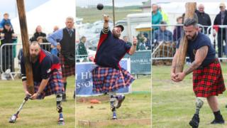 Invictus-style Highland Games at Mey