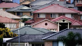 Suburban housing, Australia