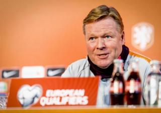 Hollanda Milli Takımı Teknik Direktörü Ronald Koeman