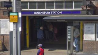 Queensbury Tube station