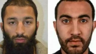 London Suspected attackers