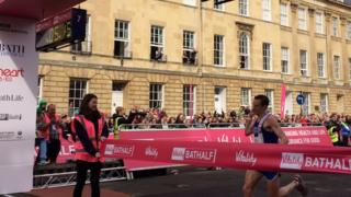 Ben Fish wins Bath Half 2017