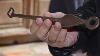 20厘米的钥匙是教堂唯一的一把钥匙