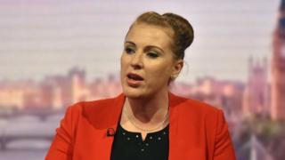Angela Rayner speaking on the Andrew Marr Show