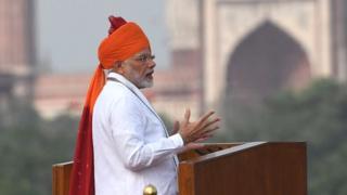 नरेंद्र मोदी, स्वतंत्रता दिवस, मोदी का भाषण, दक्षिण भारत का ज़िक्र