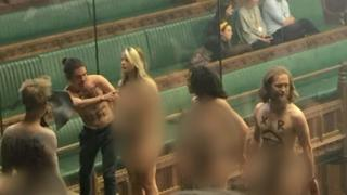 ناشطون ضد التغير المناخي يقاطعون جلسة للبرلمان البريطاني