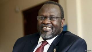"""Riek Machar se trouve selon ses soutiens dans les """"environs de Juba""""."""
