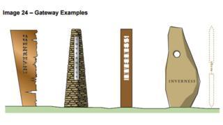 Gateway structure designs