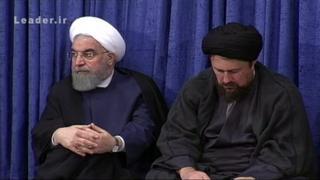 رهبر ایران در جلسه دیشب با سران سه قوه و مسئولان جمهوری اسلامی، همچنین از عملکرد اقتصادی دولت انتقاد کرد. انتقادهایی که بی شباهت به حرفهای رقبای انتخاباتی آقای روحانی نبود.