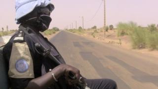 Minusma patrol in northern Mali, 18 May 2016