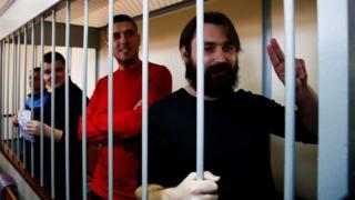 Українські моряки в московському суді