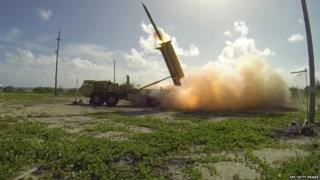 "The Thaad system only has ""initial intercept capability"" at present"