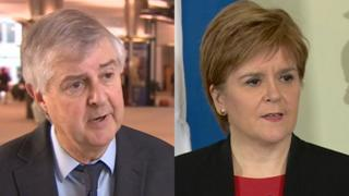 The Welsh and Scottish first ministers