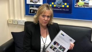 Bedfordshire's Police and Crime Commissioner Kathryn Holloway