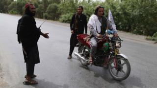 Suspected Taliban militants in government area in Jalalabad - 17 June