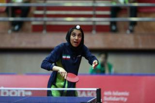مهشید اشتری در ردهبندی فدراسیون تنیس روی میز ایران بالاترین امتیاز را دارد
