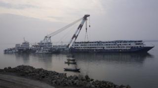 The Eastern Star cruise ship (30 December 2015)