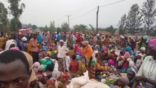 Baadhi ya wakimbizi wa Burundi