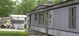 Trailers homes in Jamestown