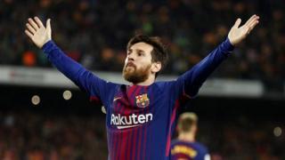 Lionel Messi anaongoza kwa ufungaji katika la Liga akiwa katupia kambani magoli 33 mpaka sasa