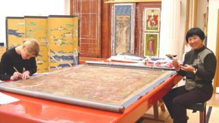 古董,博物館,英國,邱錦仙,文化,中國