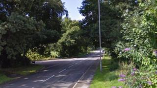 Warmwell Road in Crossways