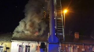 The blaze on Pershore Road