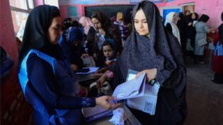 انتخابات پارلمانی در کابل