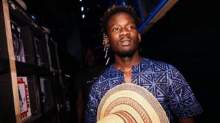Nigerian singer, Mr Eazi