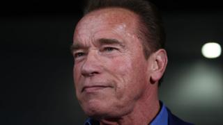 Arnold Schwarzenegger in Melbourne, Australia, 16 March 2018