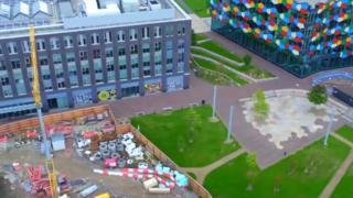 Smithfield development in Stoke-on-Trent
