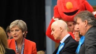 นางเทเรซา เมย์ นายกรัฐมนตรีอังกฤษ
