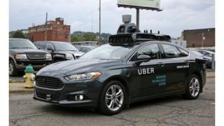 Uber automated car