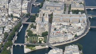Notre-Dame stands at the heart of Paris