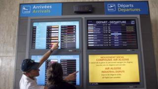france, algérie, transport, aérien, grève, airalgérie, avion, passager