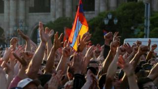تظاهرات دوم مه در ایروان