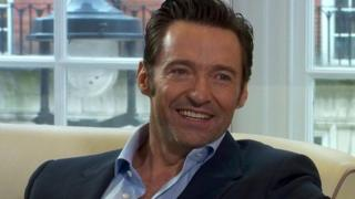 "Hugh Jackman: ""My surgeon told me not to sing. I did it anyway. And then I ran back to get it (my nose) restitched. Worth it!"""