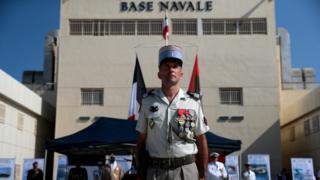 پایگاه نیروی دریایی فرانسه در ابوظبی امارات