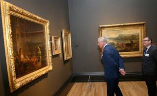 Prince Charles at the National Gallery