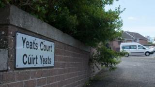 Yeats Court sign