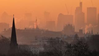 environment Primrose Hill skyline