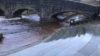 environment Hebden Bridge on Sunday morning