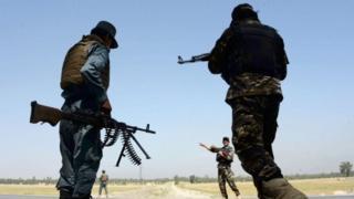 Wanajeshi wa Afghanistan wakisaidiwa na Marekani wamekuwa wakishambulia Islamic State karibuni
