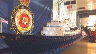 Lego yacht Pic: Brian Innes
